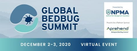 Aprehend is proud to be a platinum sponsor of the 2020 Global Bed Bug Summit.