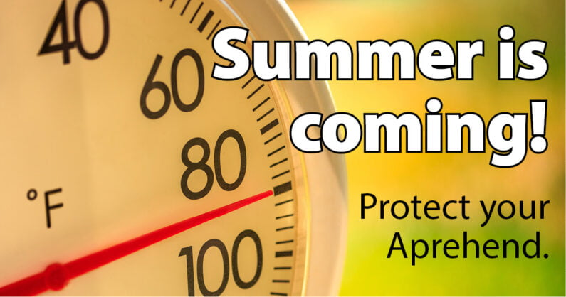 Effect of summer temperatures on Aprehend biological bed bug control